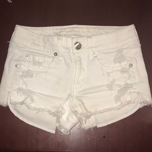Pants - American eagle ripped shorts